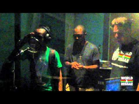 TAZ aka OXYGEN - WorldAReggae Studio Session - Kingston, Jamaica (JUNE 2011)