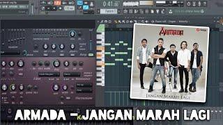 Armada - Jangan Marah Lagi (Karaoke) FL Studio