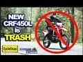 Why New 2019 Honda CRF450L is TRASH ??