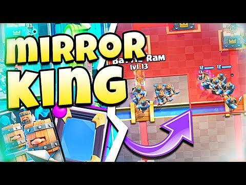 He is INSANE with MIRROR!! - Clash Royale