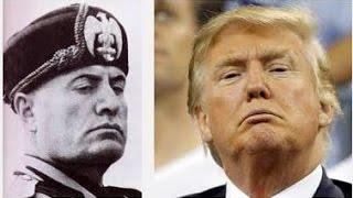 Donald Trump Goes Full Fascist