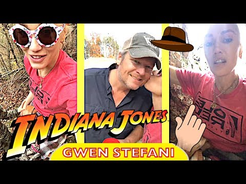 Gwen Stefani & Blake Shelton's Indiana Jones adventures with family in Oklahoma Part 1/2💥✊
