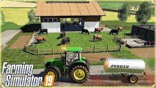 FARMING SIMULATOR 19 #50 - RECINTO PER LE MUCCHE - GAMEPLAY ITA