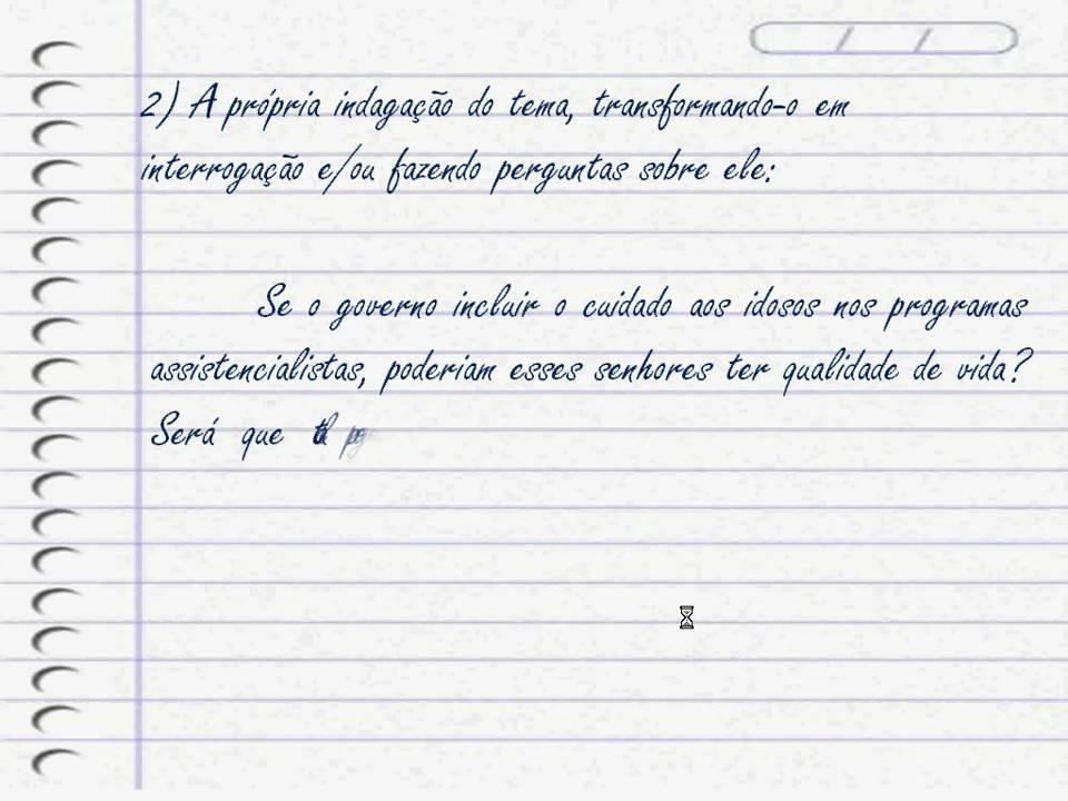 Um texto de dissertação
