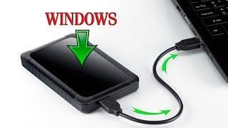как установить Windows на внешний жесткий диск