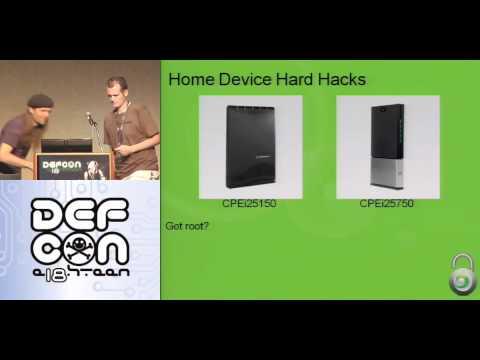 DEFCON 18: WiMAX Hacking 2010 1/4