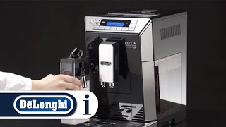 How to clean the coffee spouts on your De'Longhi PrimaDonna XS ETAM 36.365 coffee machine