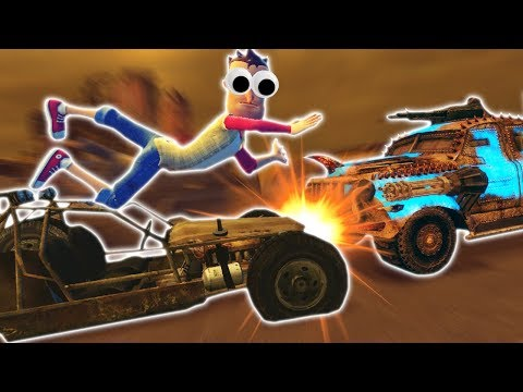 NUCLEAR MAD MAX ZOMBIE SURVIVAL WITH CAR CRASHES! (Garrys Mod Gameplay & Gmod Roleplay)