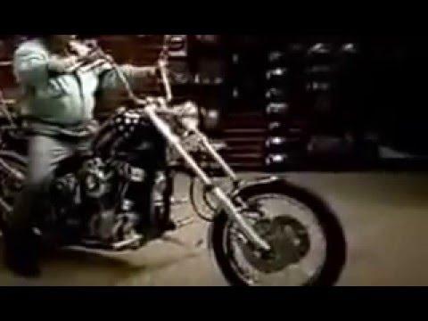 Funny video Blind biker Слепой байкер