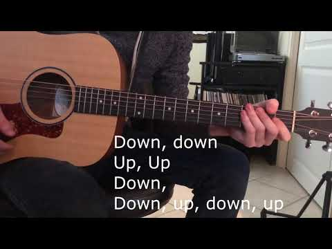 Tutorial | Hollywood Undead - Gotta Let Go CORRECT and EASY | Strumming + Chords | How-to guitar thumbnail