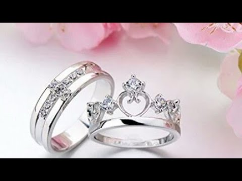 9f2a4e80e2 Beautiful and stylish couple rings buy online - YouTube