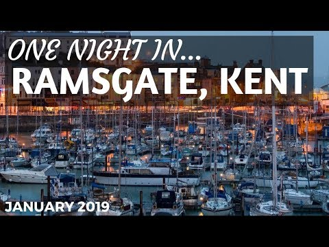 A night in Ramsgate, Kent
