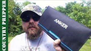 Anker 15W Power Port Solar Lite- Quick Review