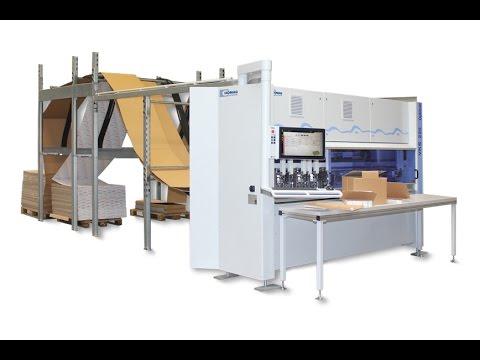 HOMAG Automation Kartonschneidemaschine VKS