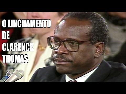 O linchamento do juiz Clarence Thomas