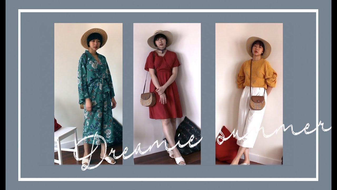 Summer vacation lookbook | Trang phục du lịch mùa hè