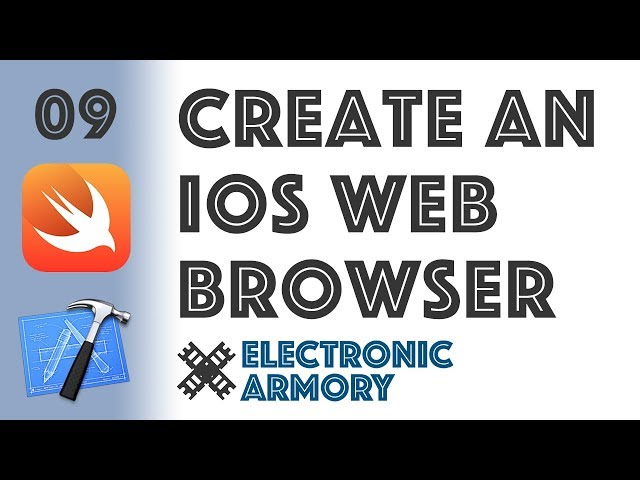 WebKit webview browser - iOS Development in Swift 4 - 09