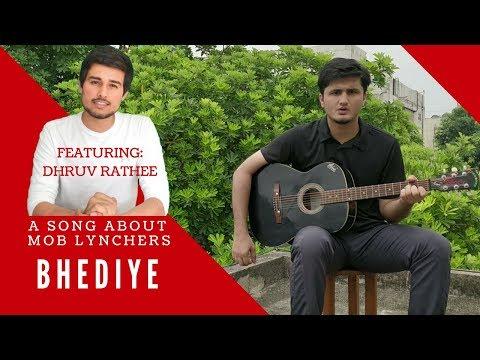 Mob Lynching Song - Bhediye | Featuring Dhruv Rathee | Acoustic Parody of Heeriye - Race 3