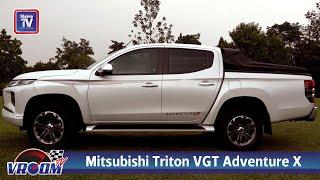 Mitsubishi Triton VGT Adventure X - Lasak bergaya