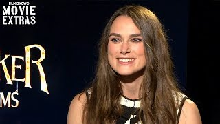 THE NUTCRACKER AND THE FOUR REALMS | Keira Knightley talks about her experience making the movie
