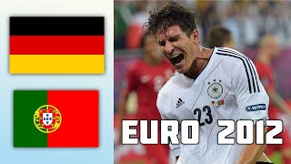 Germany VS Portugal 1 0 Goals Highlights EURO 2012
