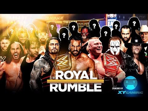 WWE 30 Man Royal Rumble 2018 With 10+...