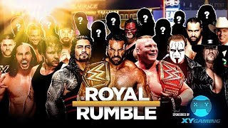 WWE 30 Man Royal Rumble 2018 With 10+ Surprise Returns | WWE 2K18 PS4/XB1