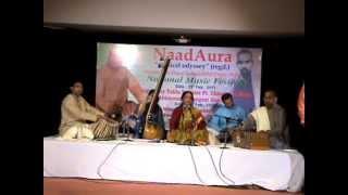 Raga-Maru Bihag by Vidushi (Prof.) Uma Garg with Dr. Rishitosh (Tabla) &Sh.Devender Verma(Harmonium)