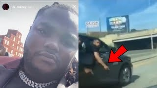 Tee Grizzley Gets Pressed By G00NS After His Aunt Ceremony