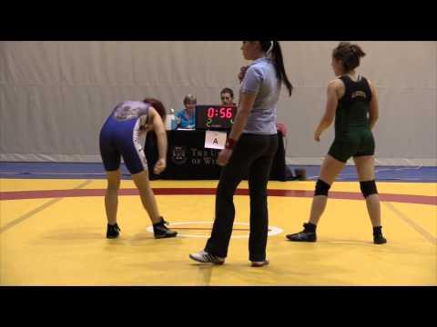 2013 Wesmen Duals: 55 kg Krystin Paquette vs. Karleah Bonk