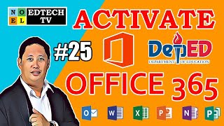 HOW TO ACTIVATE DEPED OFFICE 365 ACCOUNT