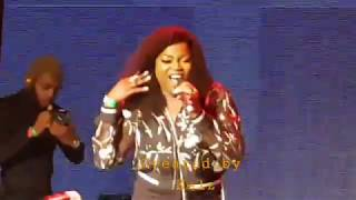 Falz Sege vs Funke Akindele Jenifa  Shaku Shaku Dance Competition Live in London  2018