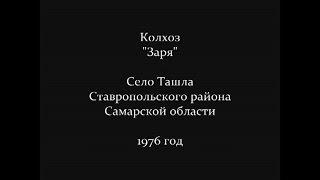 Колхоз Заря, село Ташла 1976 год