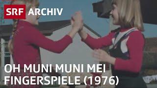 Fingerspiele (1976) | Kurzweiliger Zeitvertreib für Kinder in der Schweiz | SRF Archiv