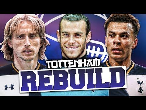REBUILDING TOTTENHAM HOTSPUR!!! FIFA 17 Career Mode