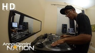 HipHop Instrumental with Scratches 'Sneaky' - Anno Domini Beats