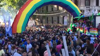 Ladies On Mars - Playing live at Gay Pride Buenos Aires 2017