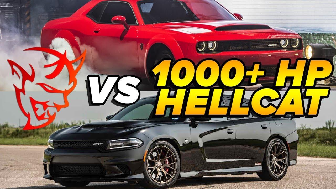 Dodge Srt Demon >> Dodge Demon vs 1000+ HP Hellcat Charger | Demonology vs Xcesiv - YouTube