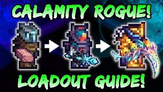 CALAMITY Rogue Class Guide! Terraria Calamity Mod - Best Rogue Setups & Loadouts (1.4.5)