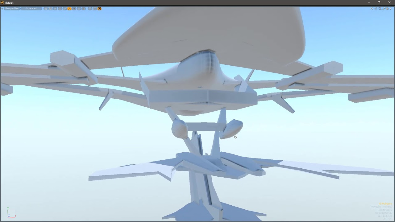 Roughing up a flying wing arena environment