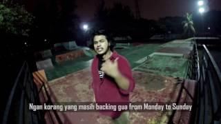 Akeem Jahat - Diam (Unofficial Music Video with Lyrics) Starring Asyiq Kaisah