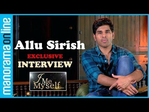 Allu Sirish on 1971: Beyond Borders & Malayalam debut | Interview | I Me Myself | Manorama Online