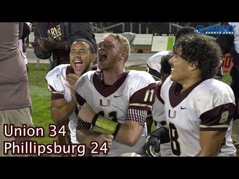 Union 34 Phillipsburg 24
