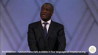 Denis Mukwege: Nobel Peace Prize lecture 2018