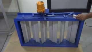 Multi Louver Damper Valve Electric Actuator 4matic Valves