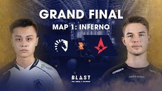 BLAST Global Final Bahrain 2019 - Grand Final - Team Liquid vs Astralis Map 1 (Inferno)