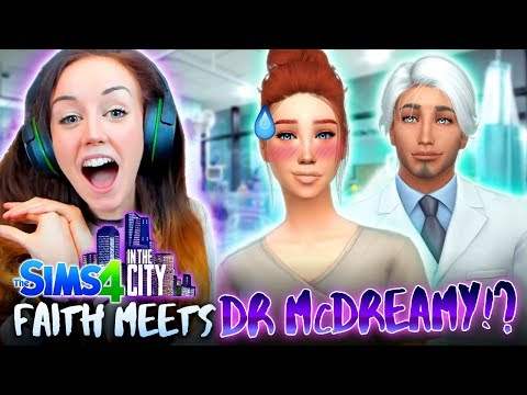 👩‍⚕️👨‍⚕️DR FAITH MEETS McDREAMY AT WORK!? 👩‍⚕️👨‍⚕️(The Sims 4 IN THE CITY #38!💒)