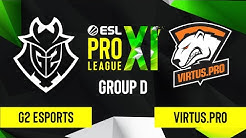 CS:GO - G2 Esports vs. Virtus.pro [Mirage] Map 1 - ESL Pro League Season 11 - Group D