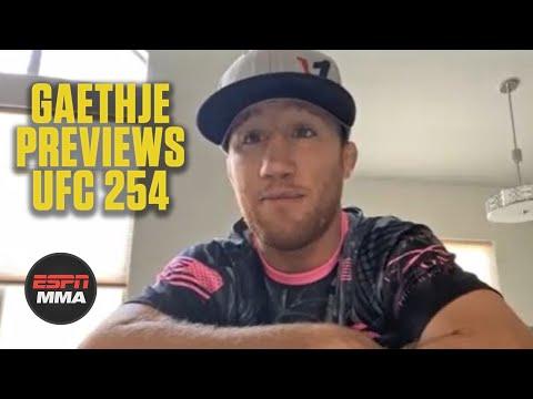 Justin Gaethje talks training for Khabib Nurmagomedov at UFC 254   ESPN MMA