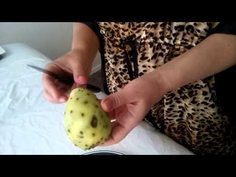 США: Орландо: Опунция  - плод кактуса. Очень вкусно!